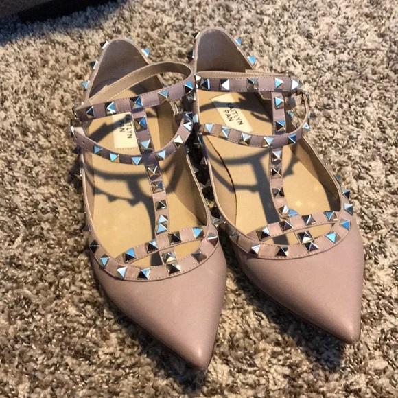 10924d6782e Kaitlyn Pan Shoes - Rockstud flats